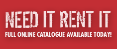 Tools & equipment rental catalogue from Kerrisdale Equipment