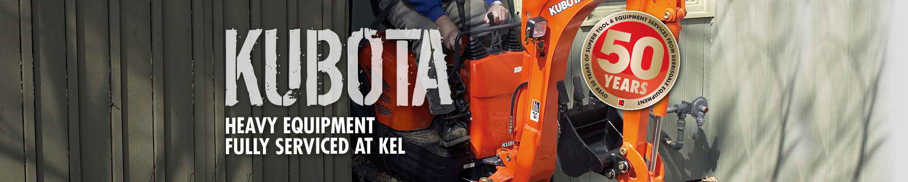 Kubota from Kerrisdale Equipment Vancouver