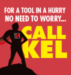 For a tool in a hurry Call Kel!