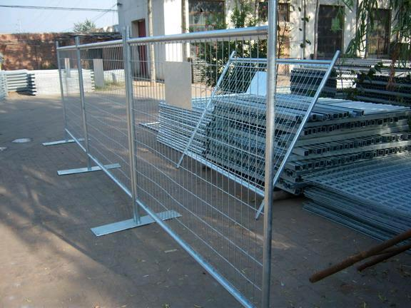 Temporary Fence Panel 6 Foot X 9 1 2 Foot Rentals