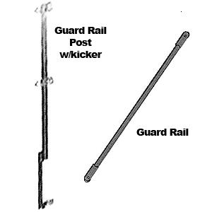 Where to find Scaffold Guard Rail Posts in Vancouver