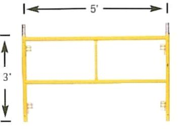Where to find Scaffold Frames 5   Wide x 30  High in Vancouver