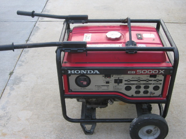 Where to find Generator,  Honda 5000W Portable in Vancouver